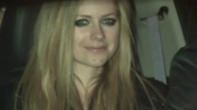 Avril Lavigne Chad Kroeger depart BOA in West Hollywood 04/08/13
