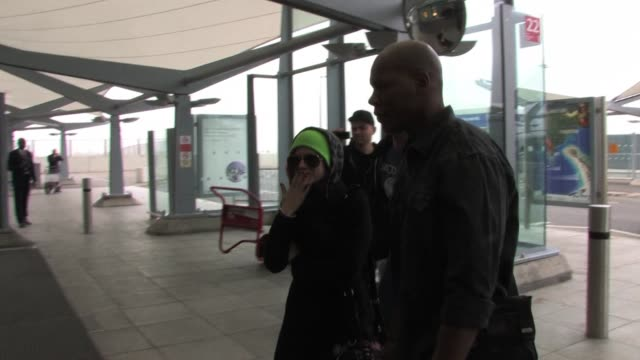 Avril Lavigne leaves London Heathrow Airport to fly to America SIGHTED Avril Lavigne at Heathrow Airport on February 17 2011 in London England