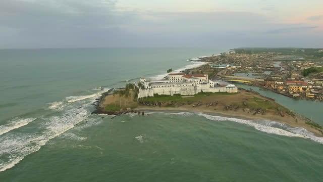 avs elmina castle, ghana - elmina stock videos & royalty-free footage