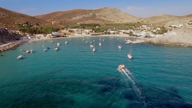 avs greek islands - getting away from it all stock videos & royalty-free footage