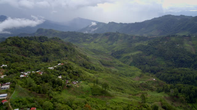 vídeos de stock e filmes b-roll de avs mountainous landscapes of chiapas in mexico - chiapas