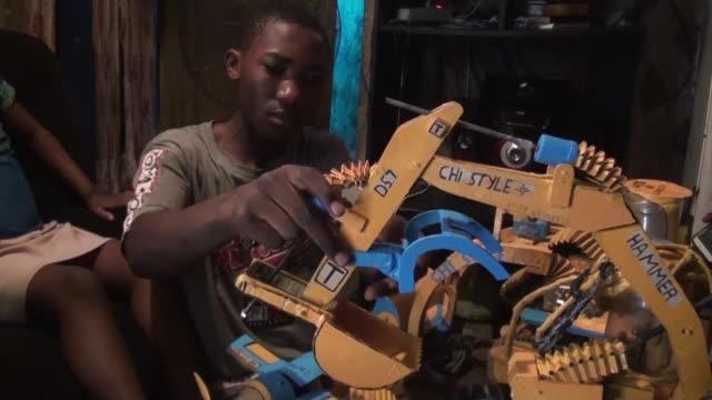 CMR: Cameroon engineering genius teen dreams to go back to school