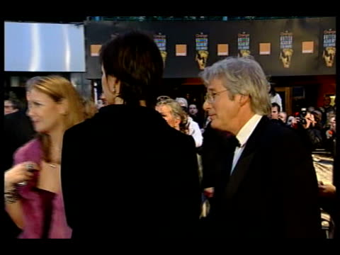 Awards 2005 ceremony BV Actor Leonardo di Caprio signing autographs MS Richard Gere along Autographs being signed for fans by BV unidentified actor...