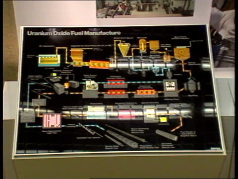 awards bnfl pr awards cumbria sellafield ms visitors along corridor ms diagram showing the manufacture of uranium oxide fuel cms philip cade... - environmental media awards stock videos & royalty-free footage