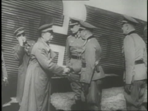 axis powers meet in germany to plan for their armies to meet in asia. - axis powers stock videos & royalty-free footage