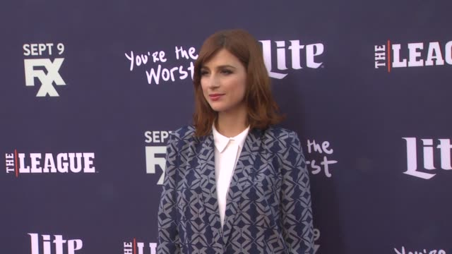 Aya Cash at the Premiere of FXX's The League Final Season and You're The Worst 2nd Season at Regency Bruin Theater on September 08 2015 in Westwood...
