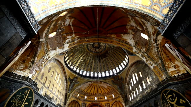 aya sofya - hagia sophia istanbul stock videos & royalty-free footage