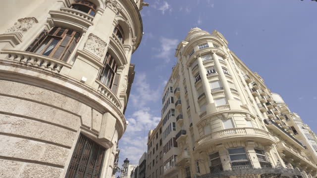 ayuntamiento de valencia, spain - downtown stock videos & royalty-free footage