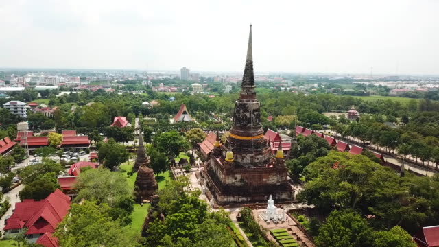ayutthaya ancient city - ayuthaya province stock videos and b-roll footage