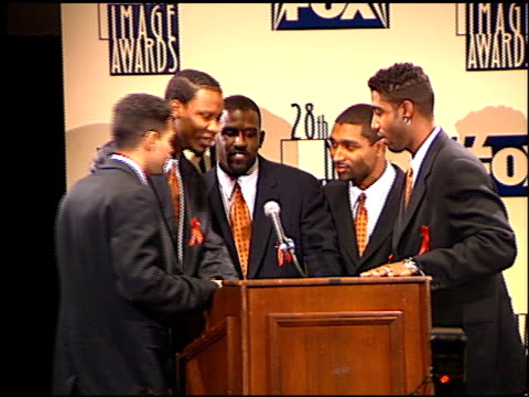 Az Yet at the NAACP 28th Annual Image Awards on February 8 1997