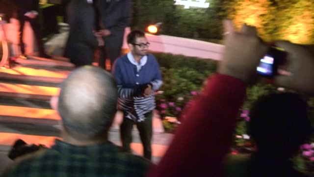 Aziz Ansari at Casamigos Halloween Party in Beverly Hills Celebrity Sightings in Los Angeles CA on 10/25/13