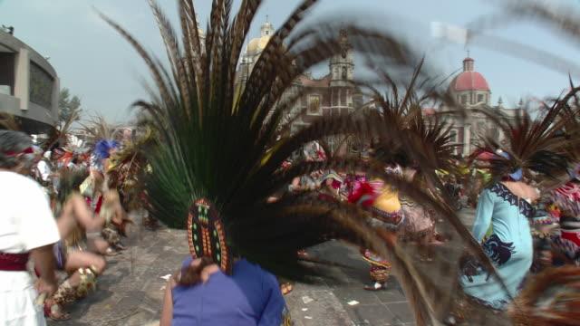 MS Aztec Dancers at Basilica De Guadalupe / Mexico City, Mexico
