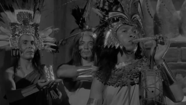 aztec ritual women dancing men playing the flute. - traditional ceremony stock videos & royalty-free footage
