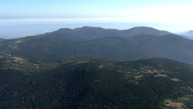 aerial, azuma mountain range, japan - satoyama scenery stock videos & royalty-free footage