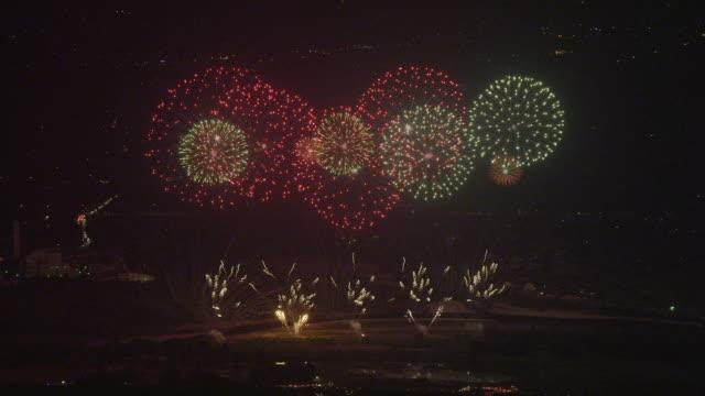 Azumino Fireworks Festival in 2013
