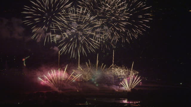 azumino fireworks festival in 2013 - 2013 stock videos & royalty-free footage