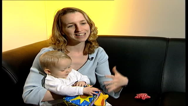 Benefits of breast feeding ITN London Elinor Dalrymple breast feeding CMS Elinor Dalrymple interview SOT Breast feeding may be natural but it doesn't...