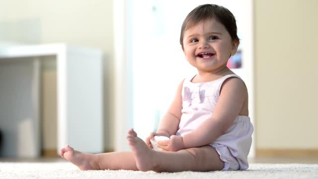babies ruining smartphones - carpet stock videos & royalty-free footage