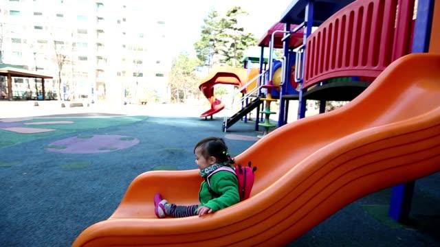 赤ちゃんのプレイグラウンド glidecam - 滑る点の映像素材/bロール