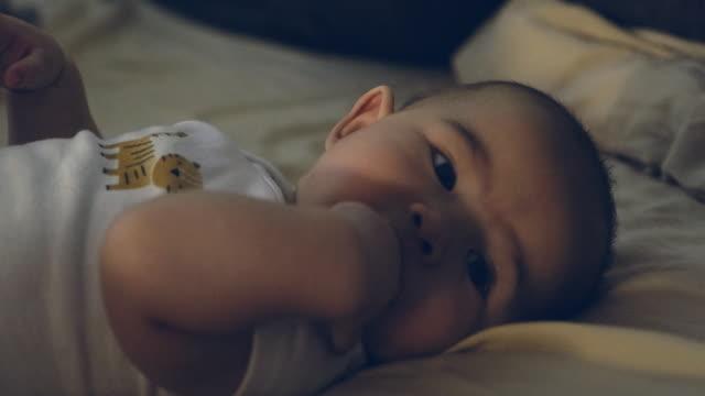 baby bedtime - dark stock videos & royalty-free footage