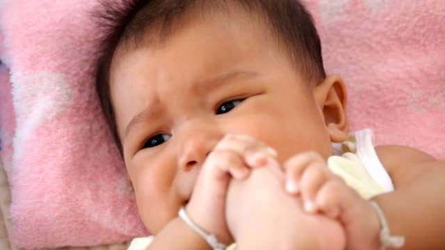 baby began to cry - complaining stock videos & royalty-free footage