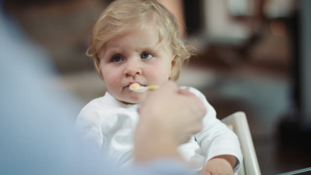 baby being feed by mother - hungry stock videos and b-roll footage