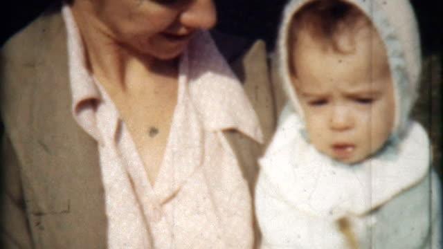baby bonnet 1941 - nostalgia stock videos & royalty-free footage
