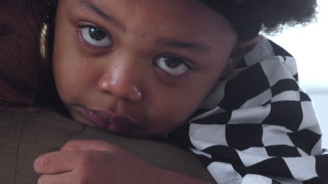 baby boy crying - poverty stock videos & royalty-free footage