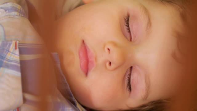 baby boy sleeping - human limb stock videos & royalty-free footage