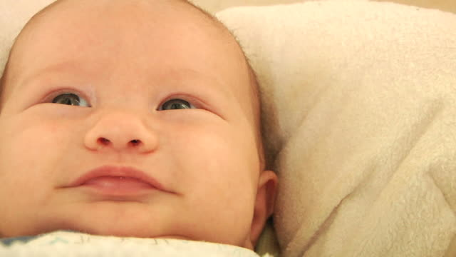 baby boy swing (hd) - human nose stock videos & royalty-free footage