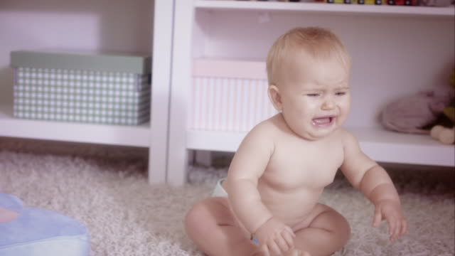baby crying - portrait - hysteria stock videos & royalty-free footage