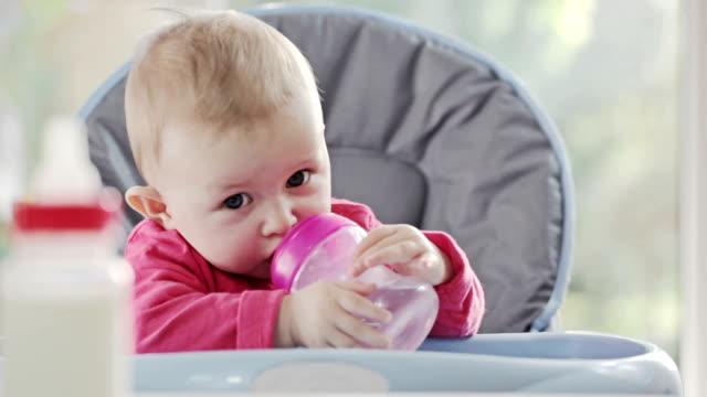baby drinking - mellanstor grupp av objekt bildbanksvideor och videomaterial från bakom kulisserna