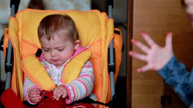 baby drops the pacifier and puts it back in the mouth - pacifier stock videos and b-roll footage