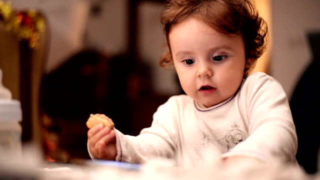 baby eating. close up - wafer stock videos and b-roll footage