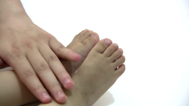 baby feet - unknown gender stock videos & royalty-free footage