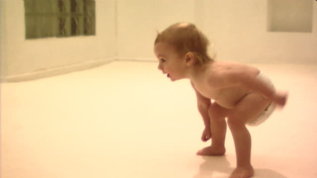 baby getting up and walking - one baby boy only stock videos & royalty-free footage