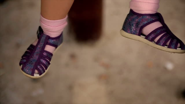 baby girl legs - legs apart stock videos & royalty-free footage