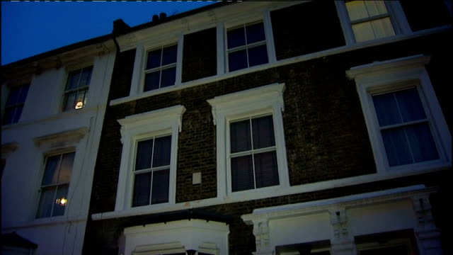 one child nearly ready to leave hospital england london hackney exterior of house where baby twins lola and isabella koupparis were attacked by fox - hackney stock videos & royalty-free footage