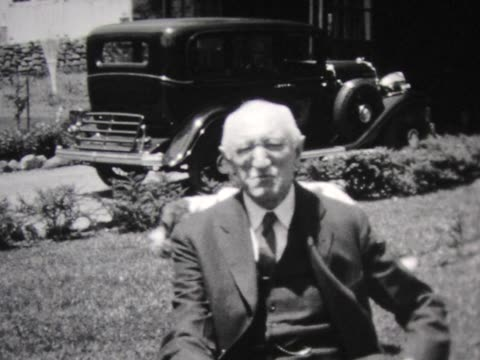 1931 baby, grandpa, dad, and friendly dog - 1931 stock videos and b-roll footage