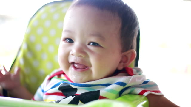 baby having fun - 6 11 months stock videos & royalty-free footage