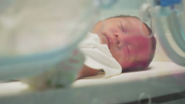 baby in incubator,dolly shot - nursery bedroom stock videos & royalty-free footage