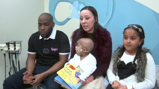 baby layla richards cured of leukaemia with groundbreaking new treatment lisa foley interview sot tough decision but it was the only option woman in... - labelling stock videos & royalty-free footage