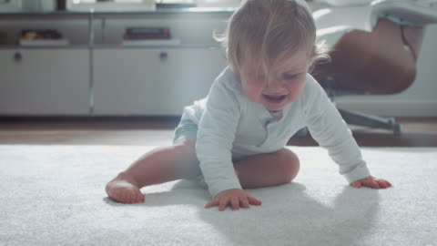 baby learning how to walk - toddler stock videos & royalty-free footage