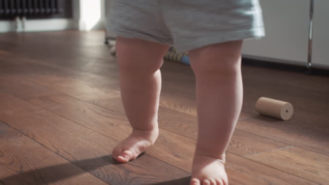 baby learning how to walk - carpet stock videos & royalty-free footage