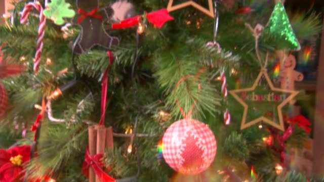 Baby living with rare genetic condition Christmas tree