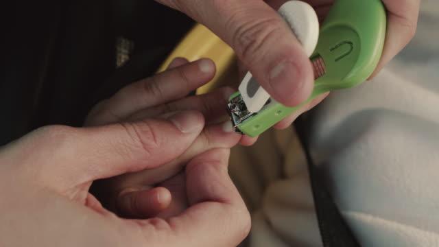 Baby nail clip