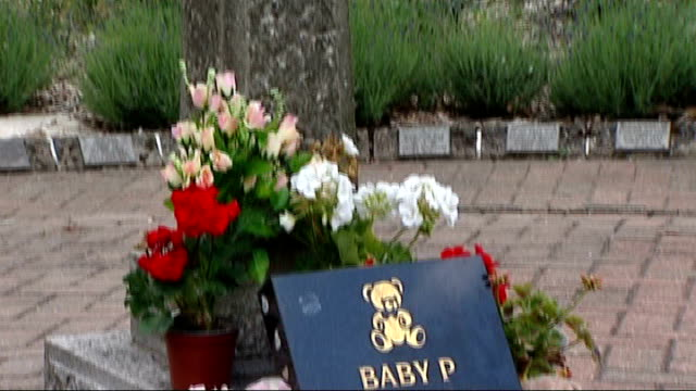 north london gp faces misconduct charge before gmc stone bird bath pan down to memorial plaque in memory of baby p - memorial plaque stock videos and b-roll footage