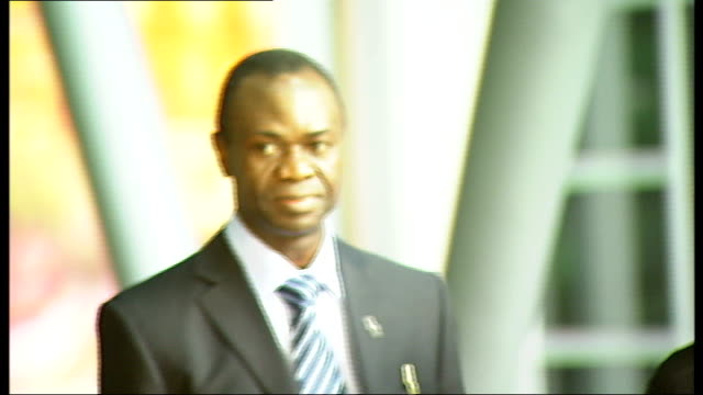 north london gp faces misconduct charge before gmc england london general medical council ext dr jerome ikwueke arriving to give evidence to gmc panel - general medical council stock videos & royalty-free footage
