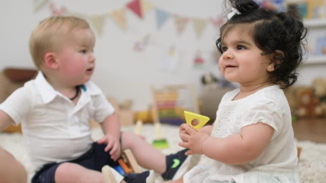 baby playdate - carpet stock videos & royalty-free footage