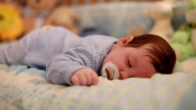 baby sleeping - sleeping stock videos & royalty-free footage